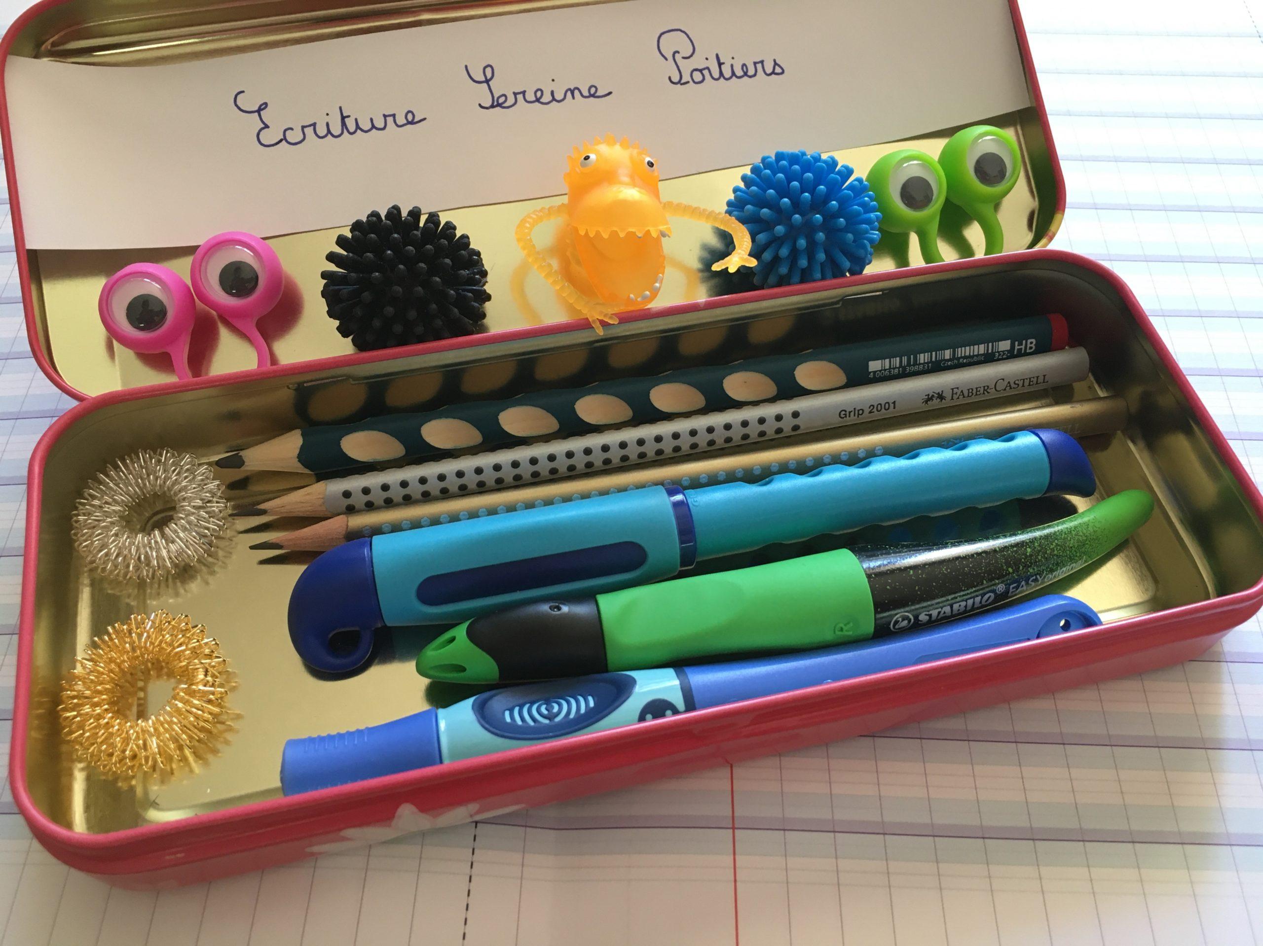 matériel écriture cabinet écriture sereine